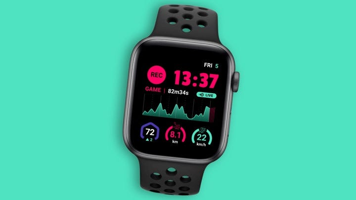 DashTag turns your Apple Watch into a football player tracker