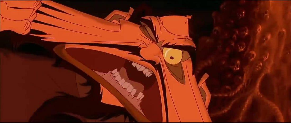 Monsters Mullets Anastasia 1997