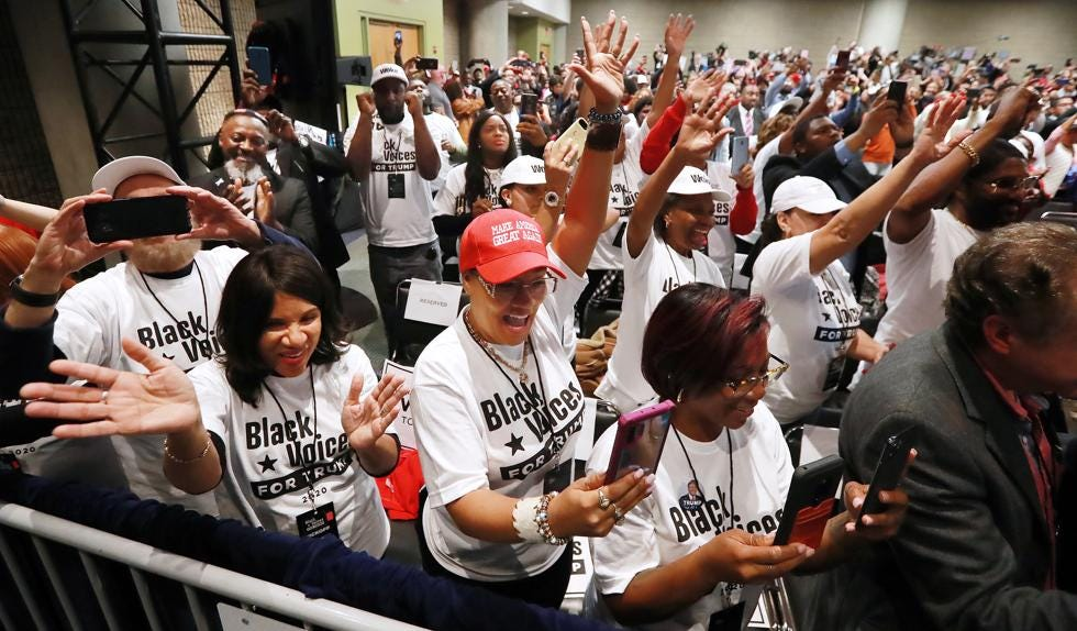 Image result for black voices for trump