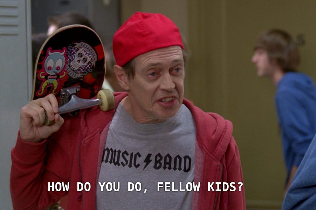 Image result for hello fellow kids