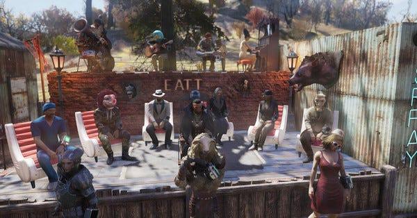 De menneskelige kannibaler i Fallout 76