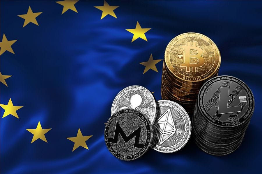 Image result for europe cryptocurrency