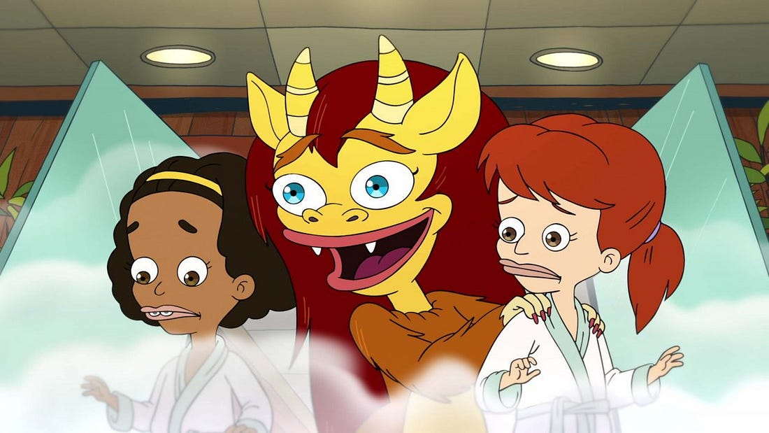 Image result for big mouth maury connie