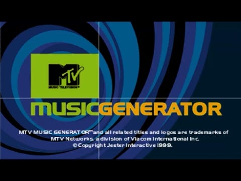 Image result for mtv music generator playstation