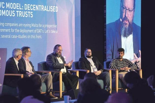 The Malta AI & Blockchain Summit. Photos: Chris Sant Fournier