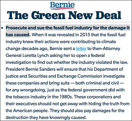 BERN NOTICE: As Exxon Trial Begins, Bernie I…