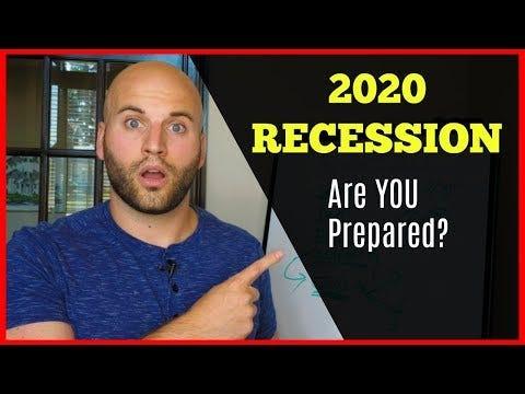 Bilderesultat for recession 2020