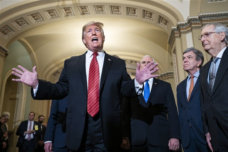 Image result for pence mcconnell trump