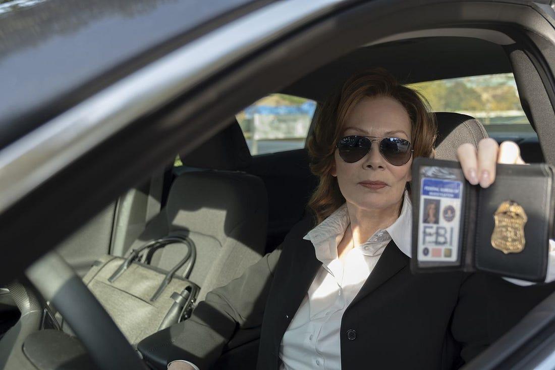 Jean Smart arrives on the scene in Watchmen.