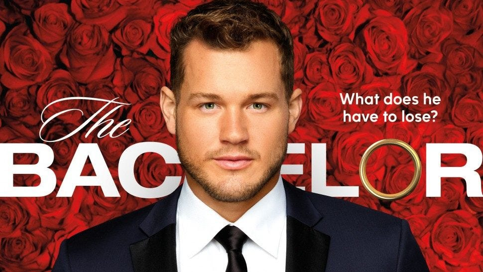 Image result for colton the bachelor promo