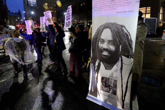 Image result for larry krasner mumia abu jamal