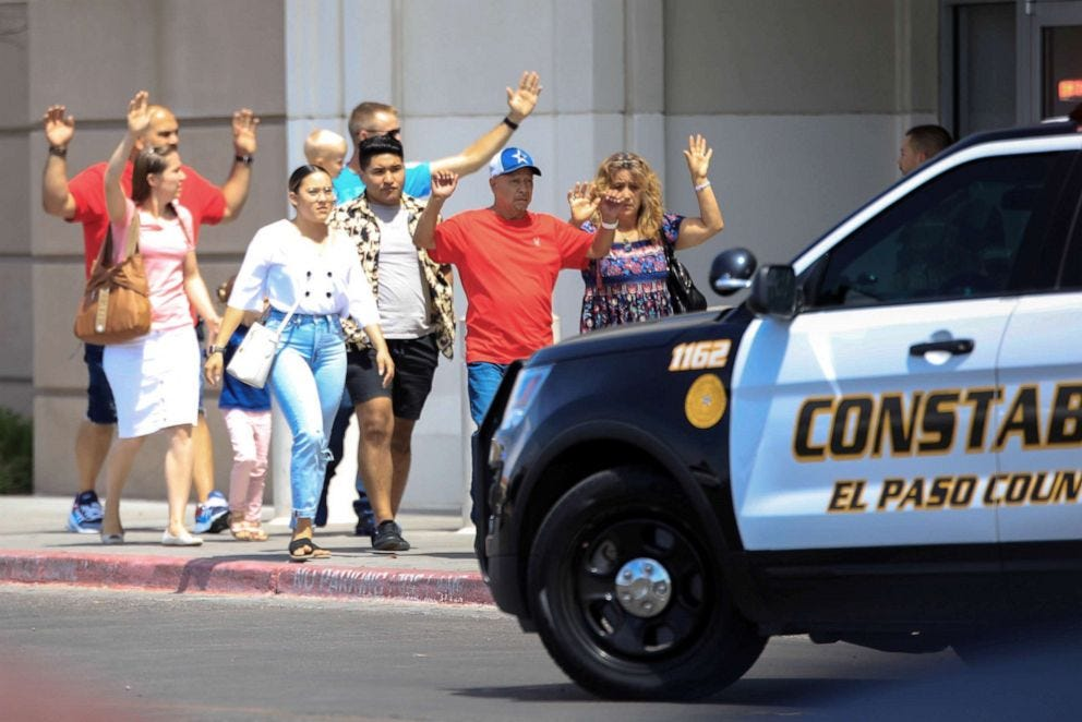 Image result for mass shooting el paso