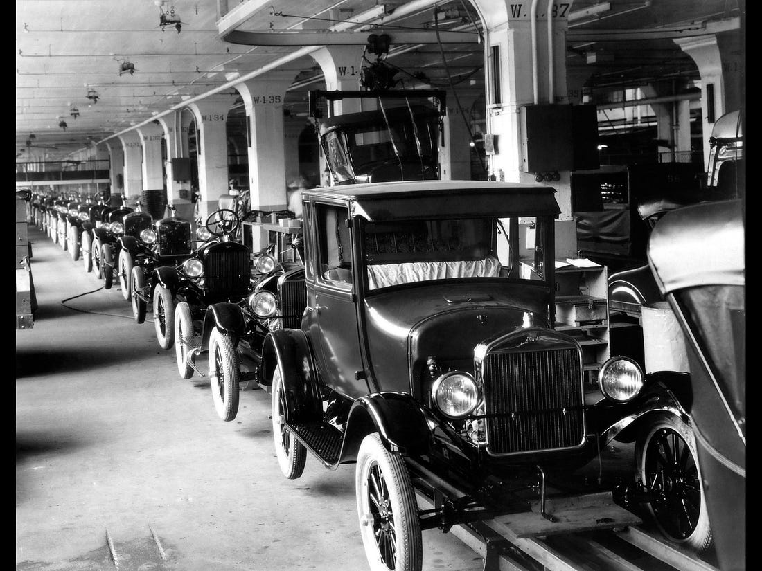 Ford Model T Centennial - 1926 Model T Assembly ...