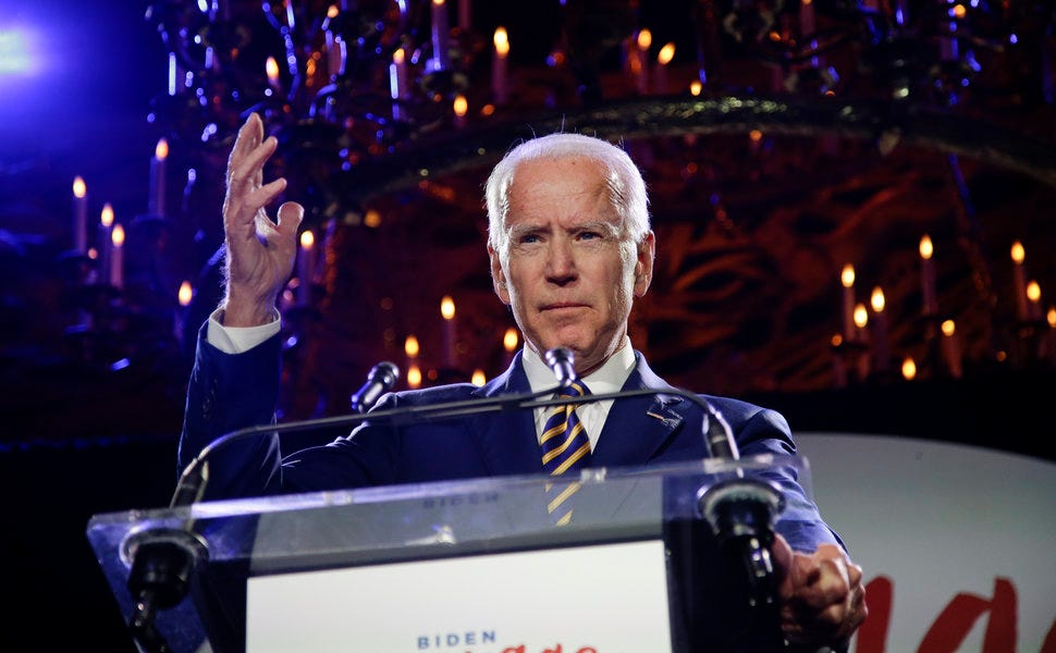 Joe Biden's backers have been pitching the former vice president as the most electable candidate for 2020.