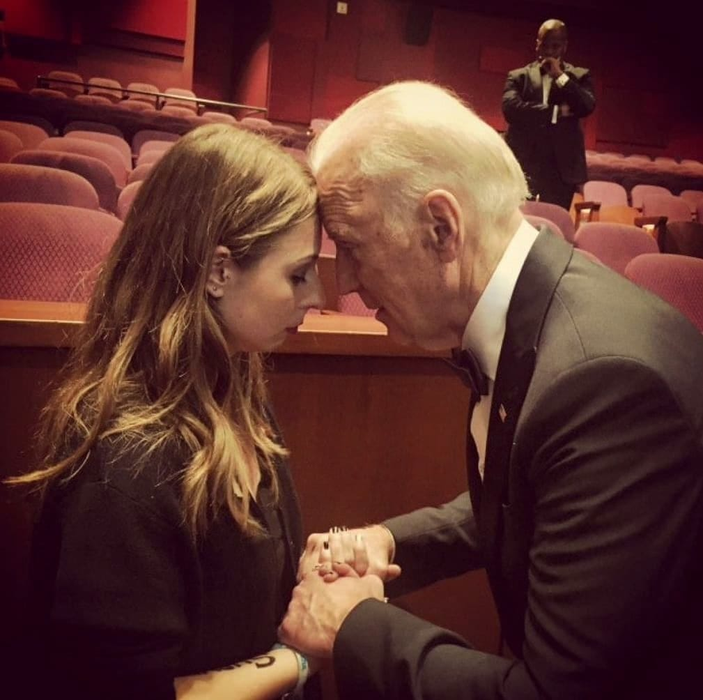 Image result for sofie karasek joe biden photo