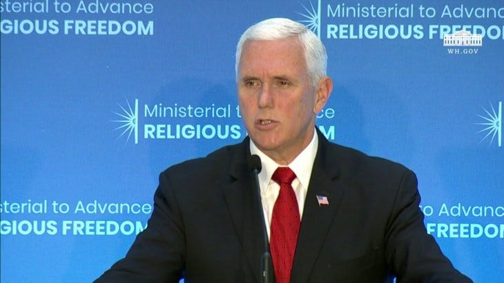 pence ministerial
