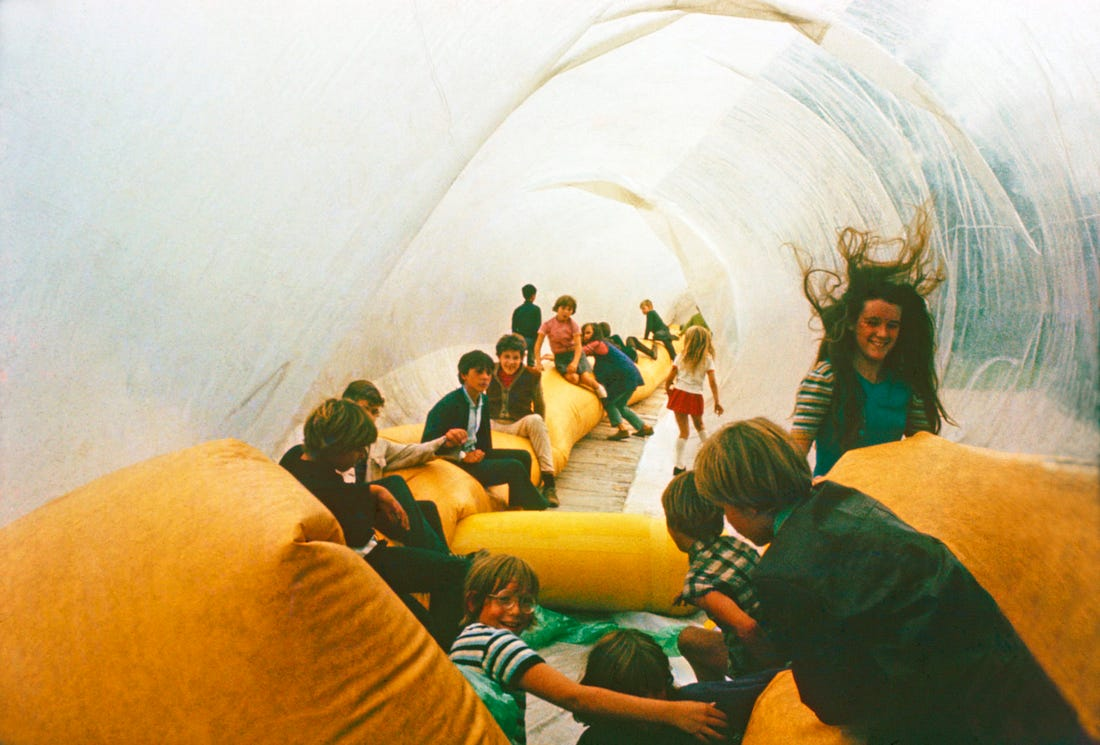 The Playful City: From the 1960s Strive for Spontaneity to Today's Space of Entertainment