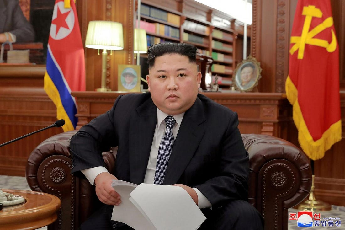Image result for kim jong un new year