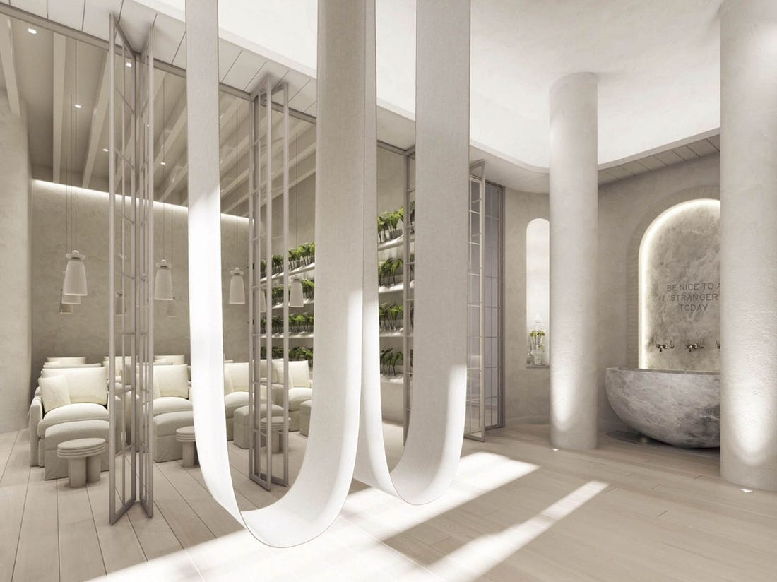 Renderings of the Well, due to open in Manhattan in early 2019.