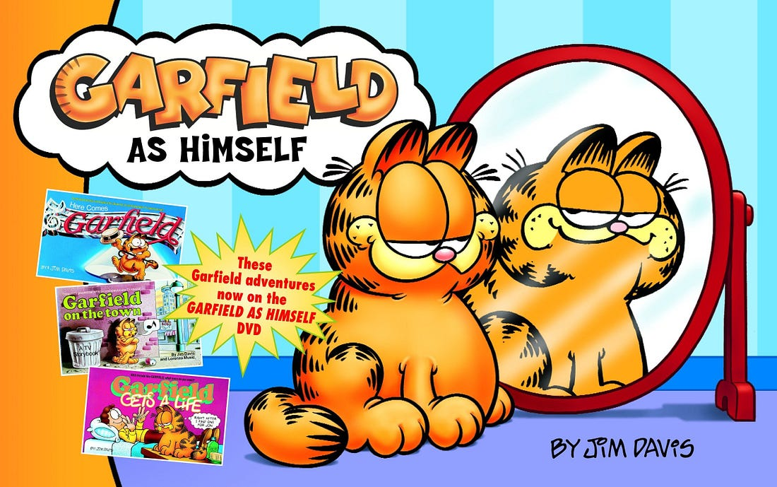 Image result for garfield as himself