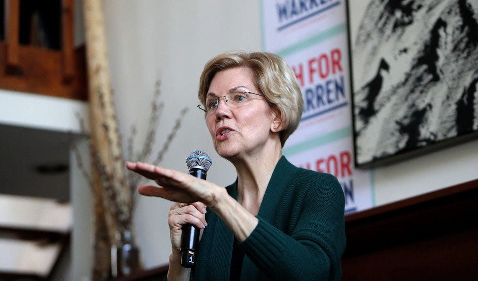 Sen. Elizabeth Warren (D-Mass.) has faced questions about her electability.