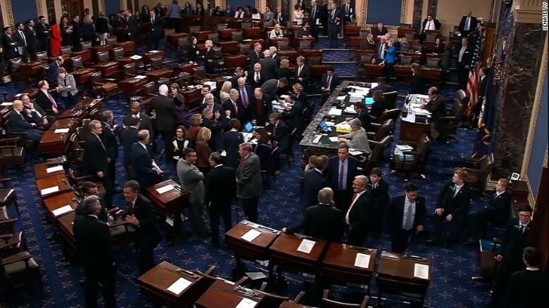 Image result for vote on shutdown