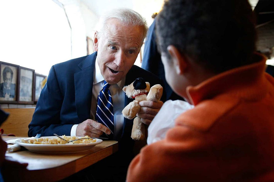 Image result for Joe Biden diner
