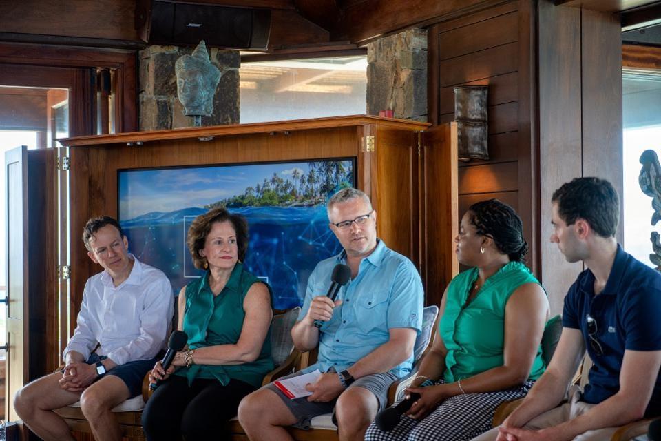 BitFury's Blockchain Summit on Necker Island