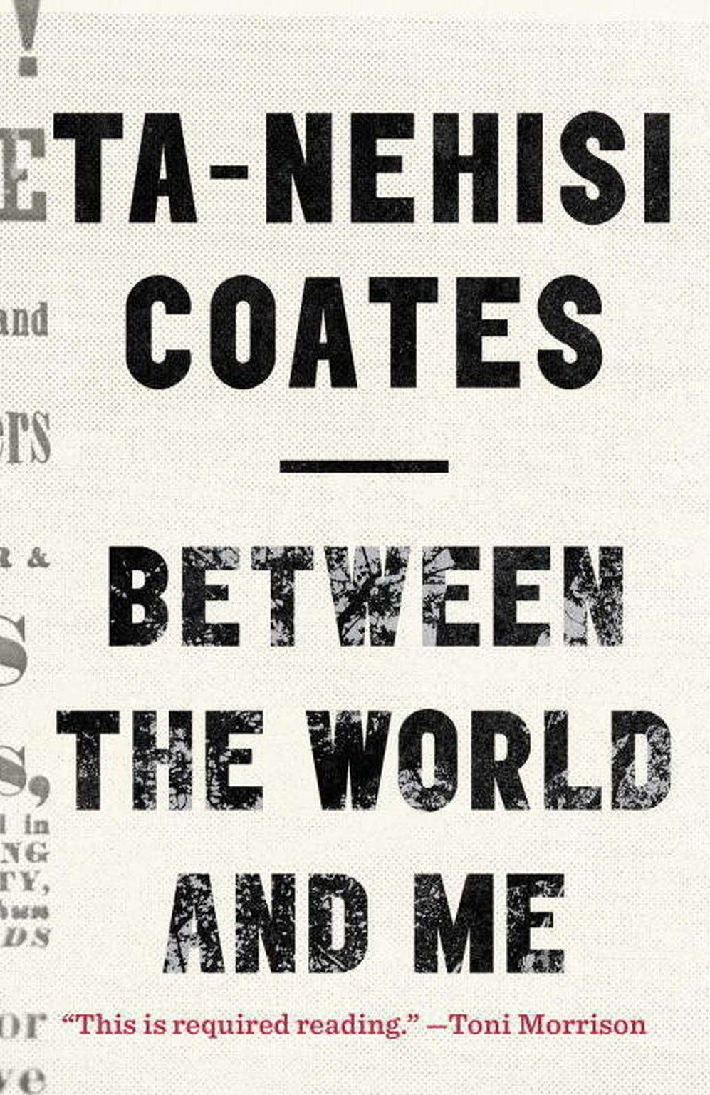 Book Review - Ta-Nehisi Coates's Between the World and Me