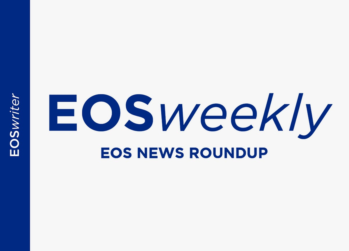 EOSweekly: EOS Green, Chintai, Greymass, Blankos, Blumer, B1, EdenOS, and Finney