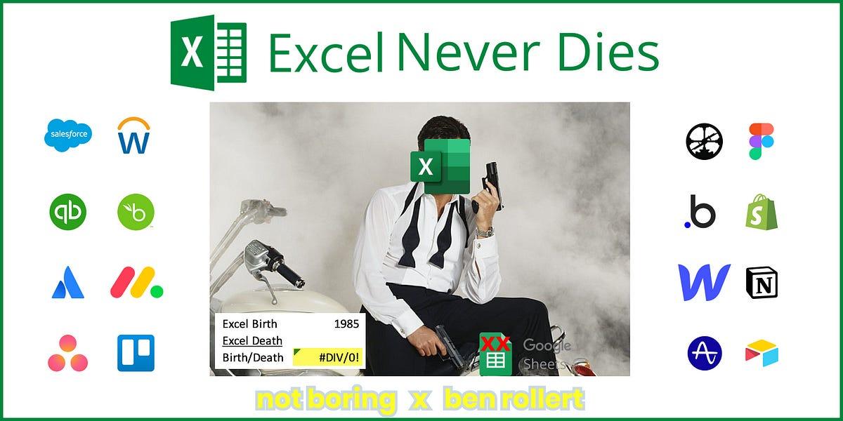Excel Never Dies
