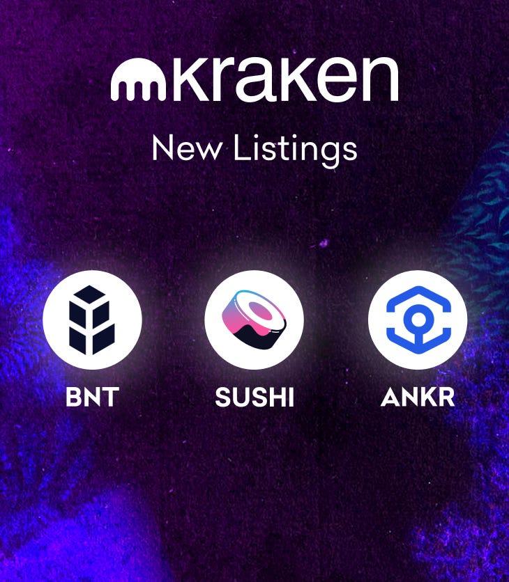 Ankr Updates: ANKR on Kraken, fETH on Uniswap