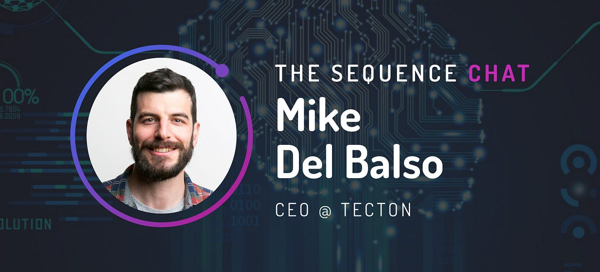 """🎙 Mike Del Balso/CEO of Tecton: There is too much depth in this space for feature stores to be just a """"feature"""""""