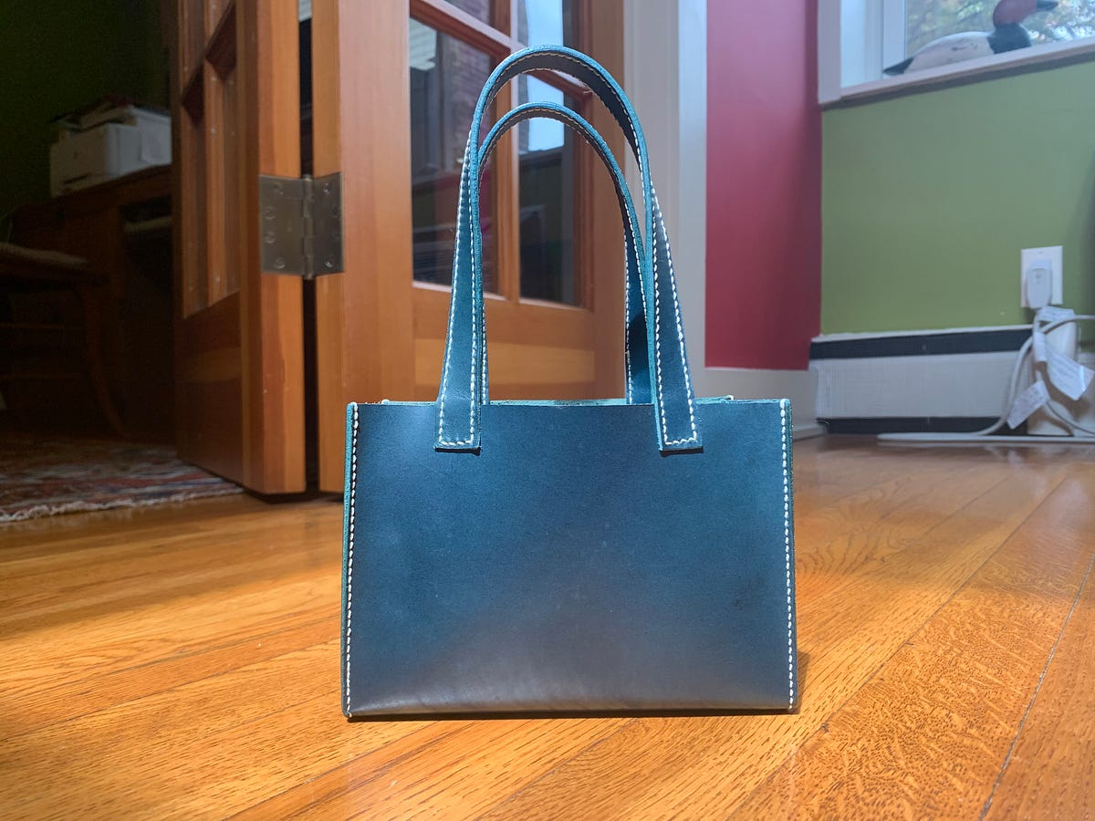 Over Covid, I decided to learn how to make leather bags. I loved the process, and ended up making a whole collection. A few friends asked for more det