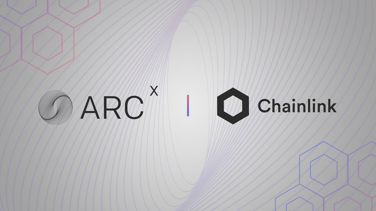 ARCx Integrates Chainlink Price Feeds for Rehypothecating DeFi Assets