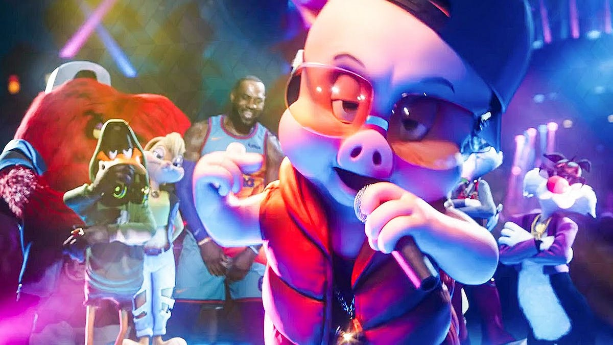 For our first trip to the cinema since pre-lockdown, my friends and I went to the Neukölln Arcaden Cineplex to see the Space Jam sequel. If you're