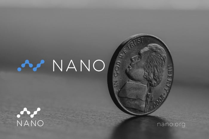 The vision of Nano-an instant, feeless and greencrypto