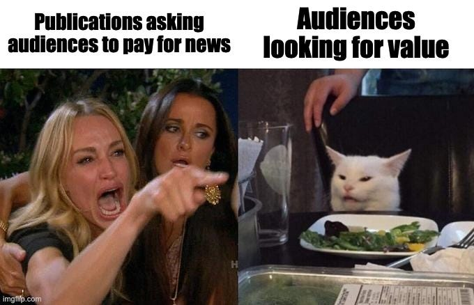 Why won't these audiences pay for news?