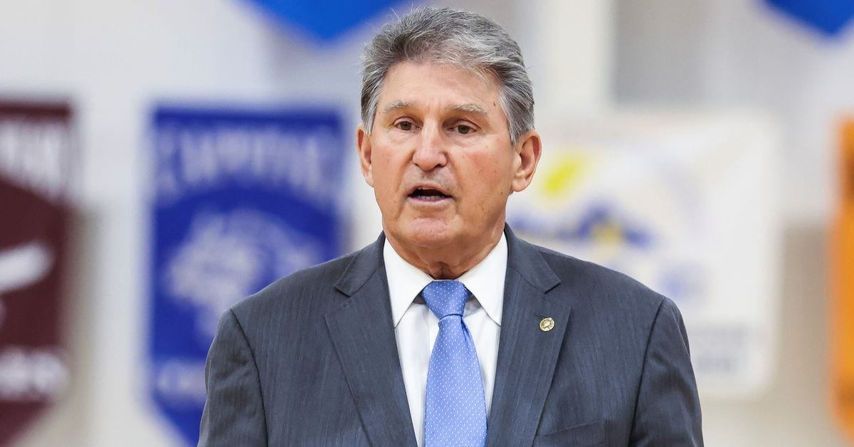Are we going to let Joe Manchin sink democracy?