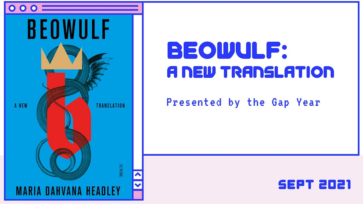 [RSVP] Beowulf: September 4th - by Jenoa - The Gap Year