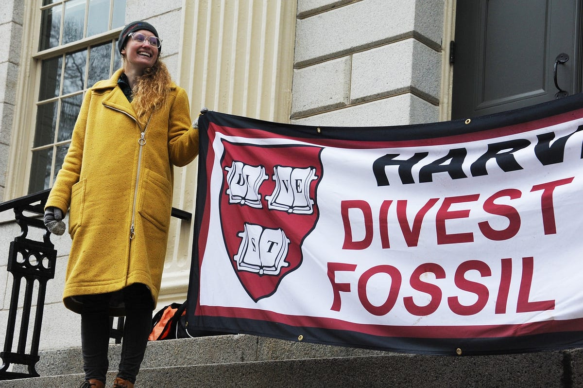 Triumph! Harvard Finally Divests From Fossil Fuel
