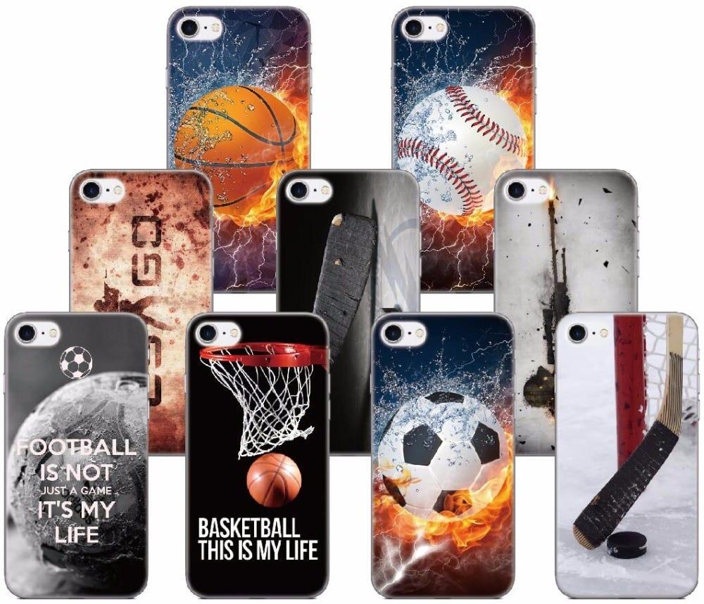 1143917256 Print Sport Team Fundas Soft TPU Phone Cover Case For ...