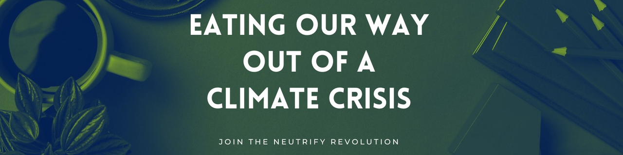 Eating our way out of the Climate Crisis