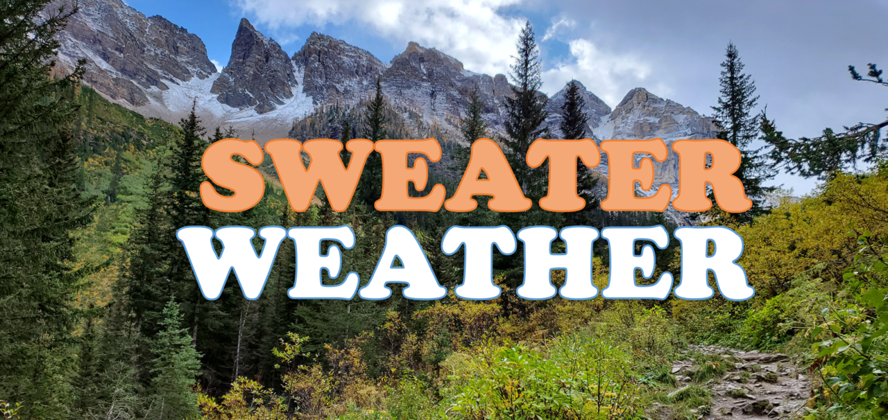 Sweater Weather: The Newsletter