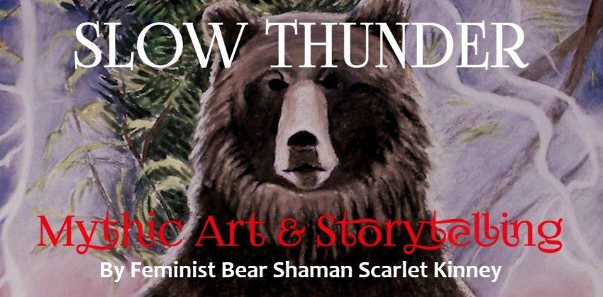 Slow Thunder Mythic Art & Storytelling