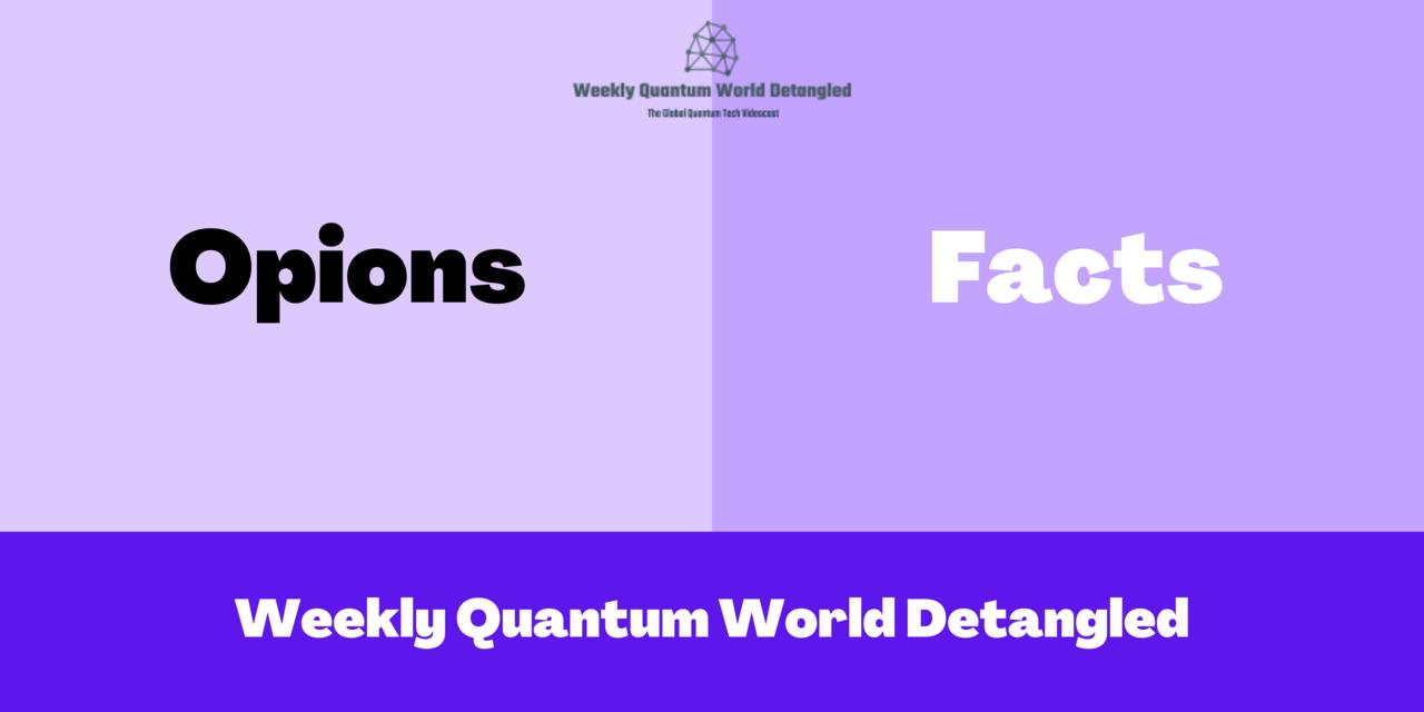 Weekly Quantum World Detangled by André M. König