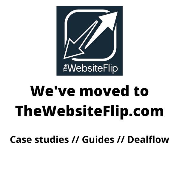 Website Flipping Newsletter