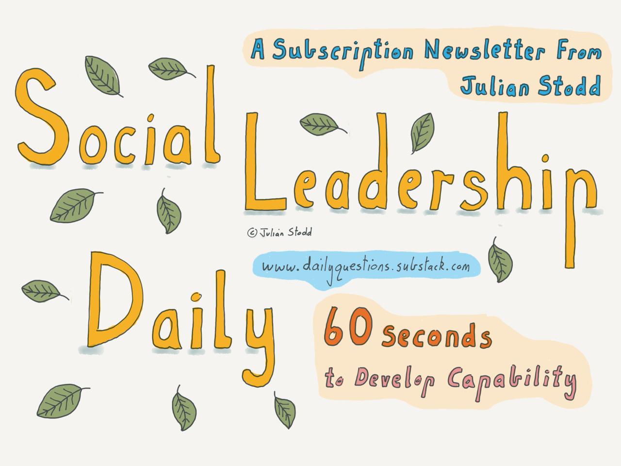 Social Leadership - Daily
