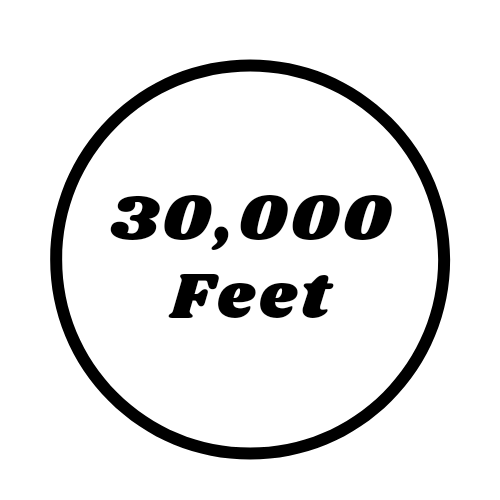30,000 Feet