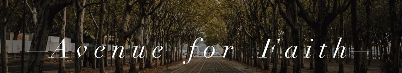 Avenue For Faith
